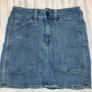 American Eagle Fitted Denim Skirt